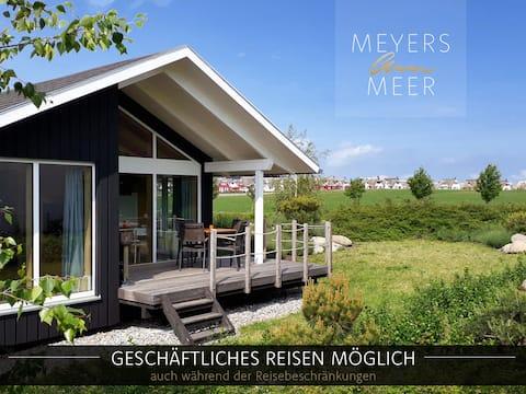 Holzferienhaus mit Sauna, 500m zum Ostsee-Strand 8