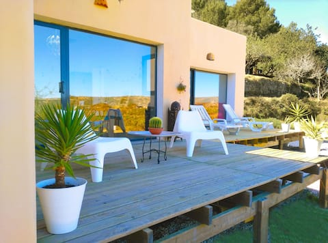 Mediterranean  Eco House.