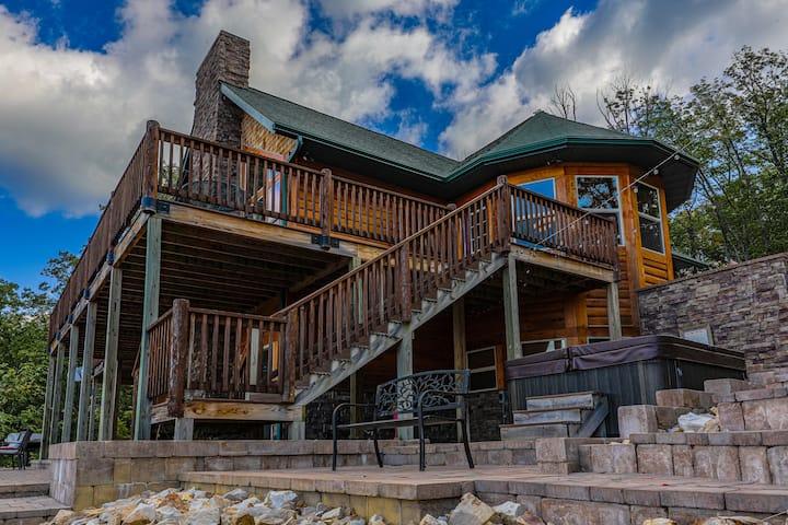 Keaton Ridge Cabin @shenandoahwoods