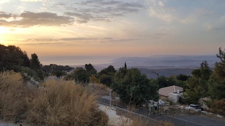 Lovely room in Galilee village