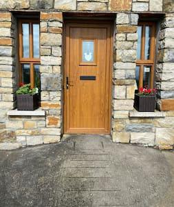 Steep free path to front door