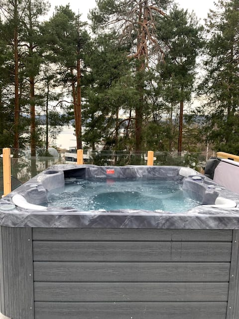 Totalmente renovado em 2021, perto de Oslo. Zen+Família