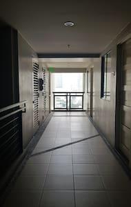 hallway going to my unit