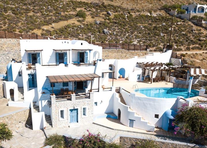 The Villa at Kastelli Bay, Luxury Waterfront Villa