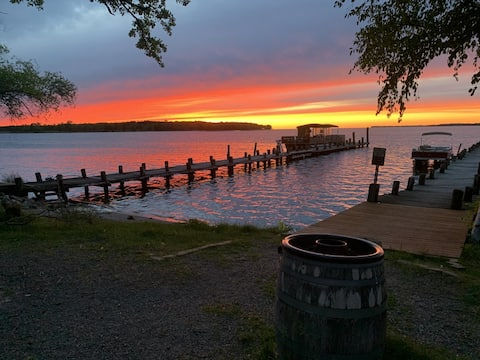 New Cabin at Mille Lacs Lake with Resort Access