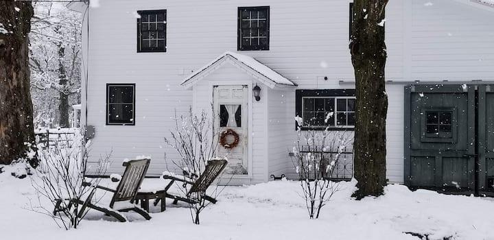 Vermont barn apartment