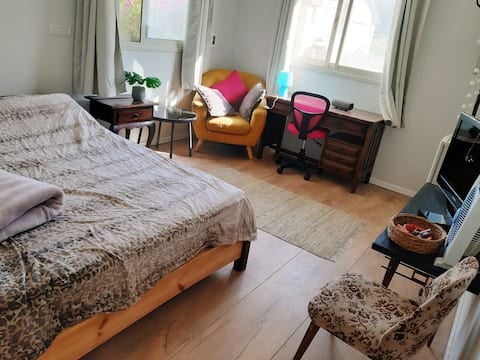 OUR NICE ROOM IN THE FARM