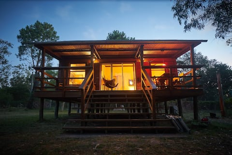 House in the woods of coastal Uruguay