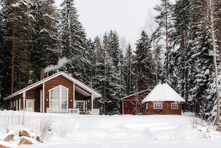 Villa in Kouvola near lake