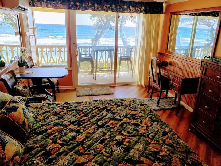 Kauai Direct Oceanfront Top Floor Condo #324