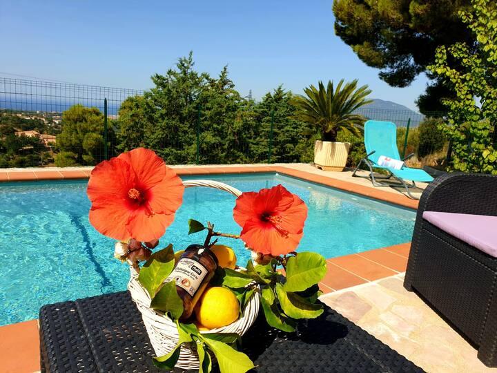 Petit coin de paradis Villa entière avec piscine