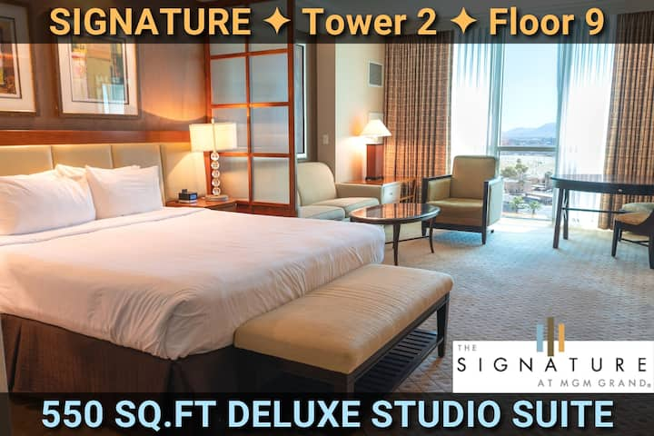 Signature@MGM Suite • NO RESORT FEE • BY THE STRIP