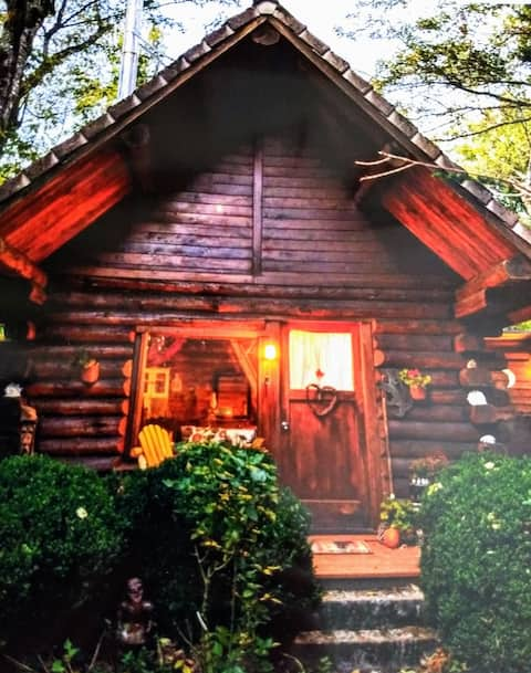Cozy Log Cabin, Heart of the Gorge