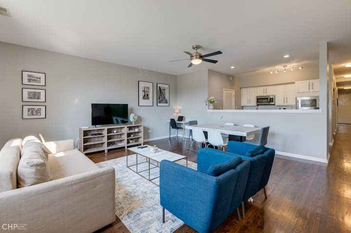 **The Madison-Modern 2Br 12 mins to Downtn, 1 park