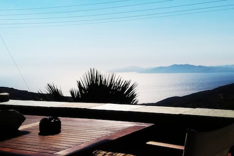Fabulous villa with a view over the Aegean sea