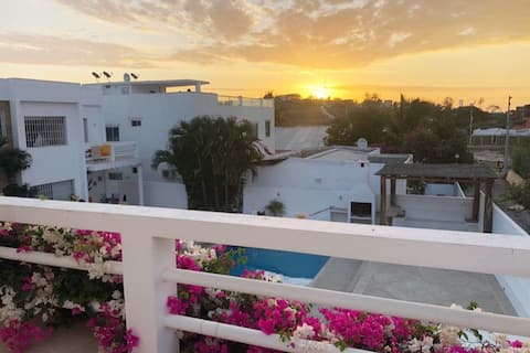 Beautiful Beach House with Pool & BBQ @ Punta Blanca