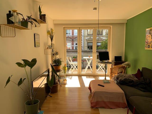 Zentrale Wohnung im Herzen Hamburgs / Sternschanze