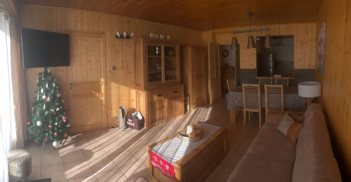 Alpe d'Huez- Pied des pistes- 3 pièces/7 Couchages