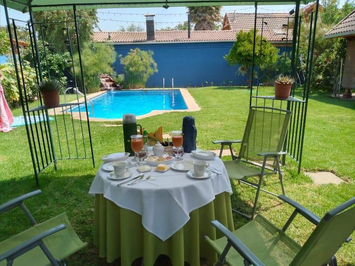Hermosa Casa para descansar fuera de Santiago