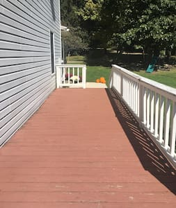 Side deck walkway
