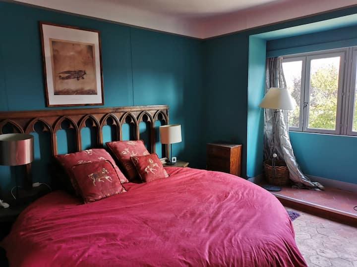 Chambre romantique à 15 mn de Giverny