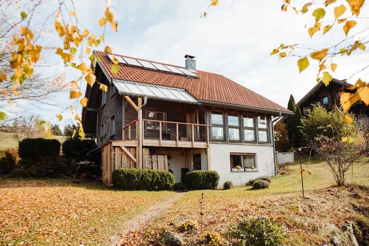 DG im Ökoholzhaus i.d.Natur südl. Hochschwarzwald