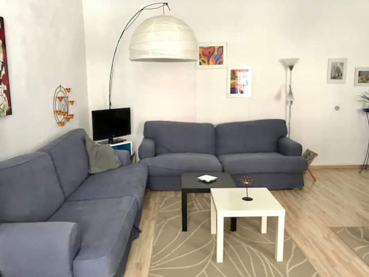 City apartment 50m² -near city park and university