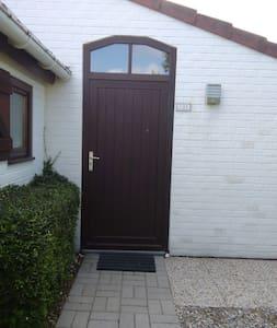 Pintu masuk tanpa anak tangga ke bilik