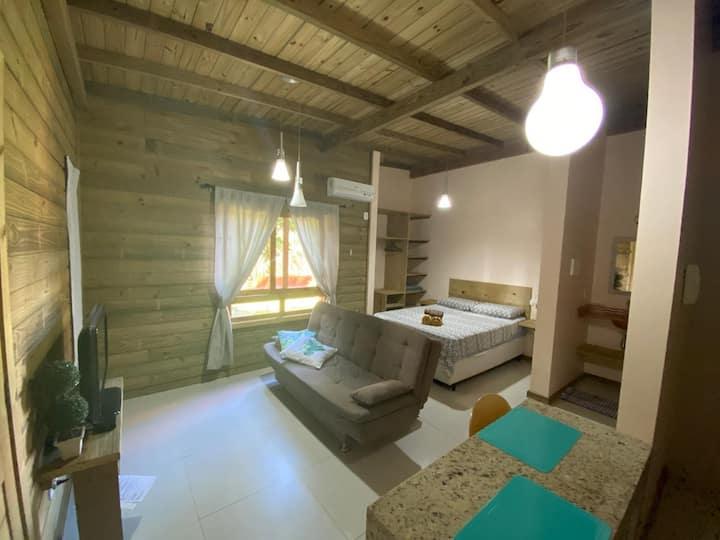 #07 - Studio bem confortável, pertinho da praia!