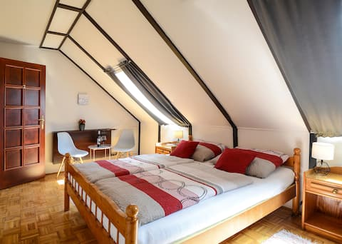 Welcome Guesthouse - delux double room w/ bathtub