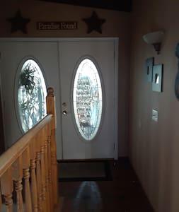 Hallway, looking at front door