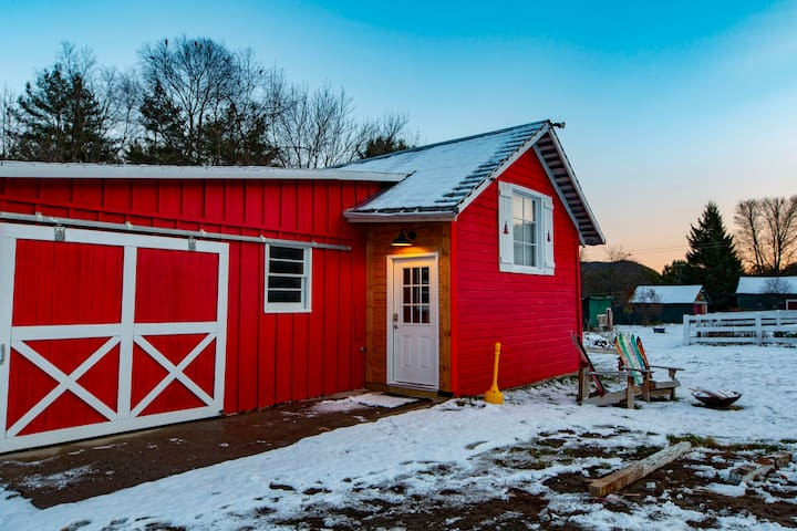 The Red Barn Guesthouse in the Adirondacks