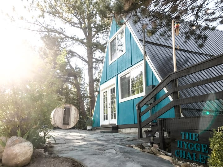 The Hygge Chalet and Sauna