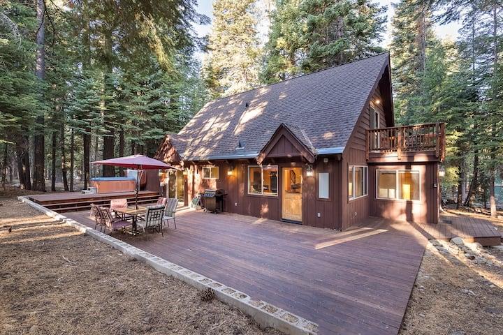 Hot Tub, Forest Views, Updated Kitchen!