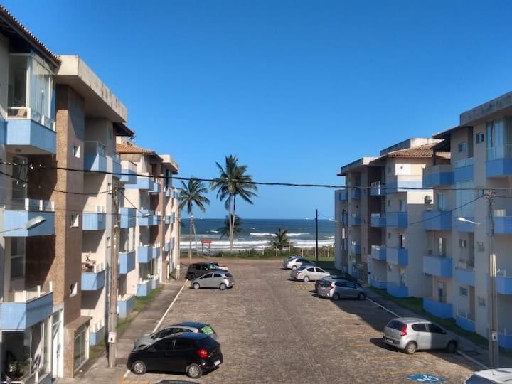Apartamento temporada na frente da praia