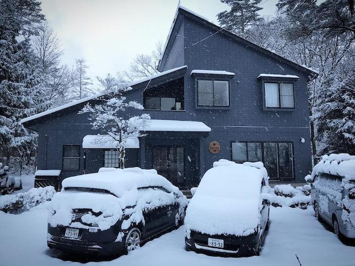 Sheltered Inn Hakuba - entire lodge