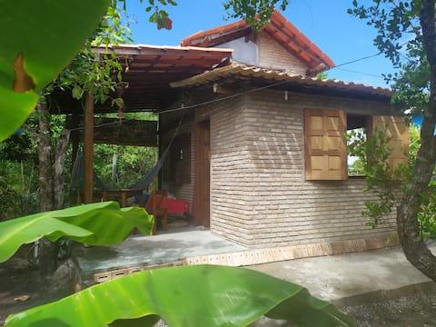 Cabaña con encanto para dos personas en Boipeba