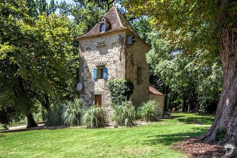 A beautiful pigeonnier tower