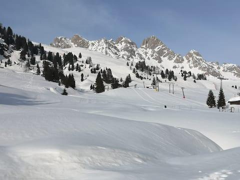 Apartament w Dolomitach, blisko stoków narciarskich