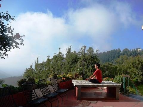 Sunrise Villa Shimla    nature    work from home