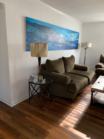 Original art.  Hardwood floors throughout.