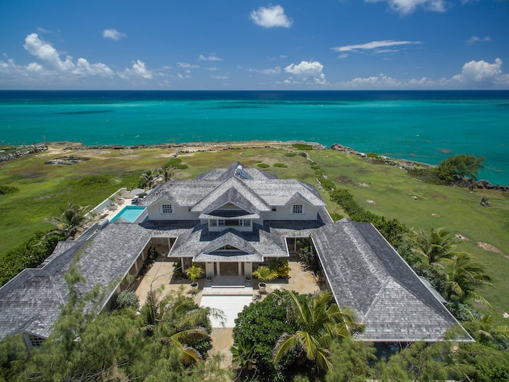 LARIMAR  -   Luxury Ocean Front Villa 6 bed 7 bath