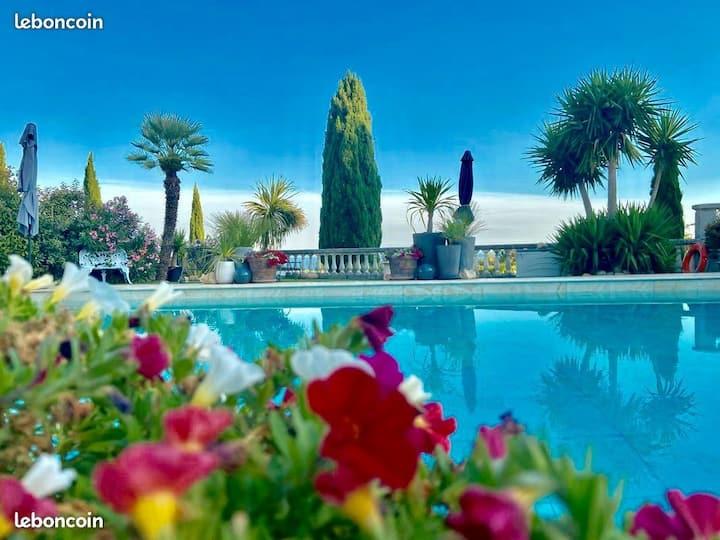 P'tit goût d'paradis Villa Vue mer Plage Calanques