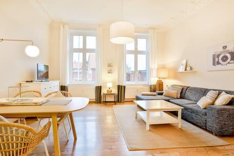 Ferienwohnung 1 Apartmenthaus Tribseer Damm 6