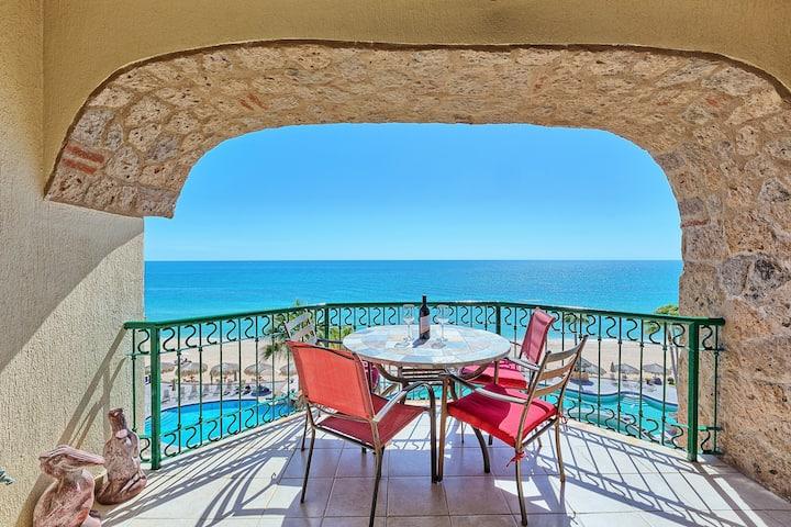 Oceanfront View, Sandy Beach, Sonoran Sea Resort