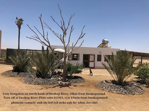 Bungalow in the desert