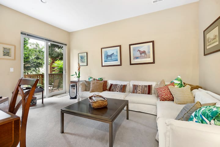 Spacious Floor w/ Patio in Stunning Townhome