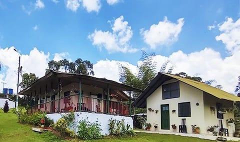 Casa de campo en Retrepo Valle