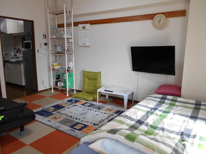 【2K1 Room charter!】Tohoku University Hospital near