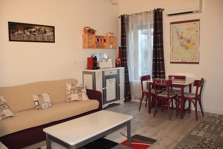 Appartement calme de 36m2 aux portes de Bordeaux